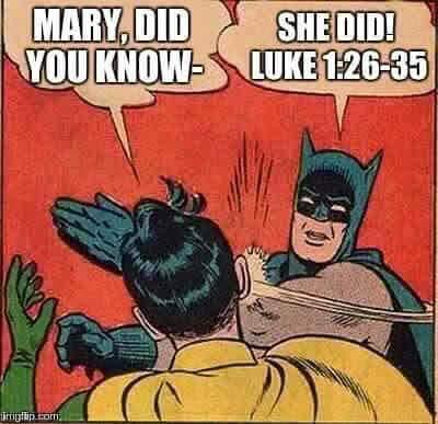 mary knew